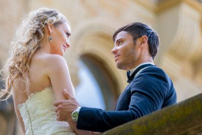 Hochzeit-Mainz-after-wedding-Schloss-Waldthausen-verliebter-Blick-Blickkontakt-Sergej-Metzger-Hochzeitsvideo-Hannover