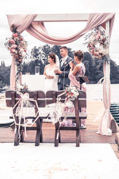 Hochzeit in Herford Freie Trauung Moor Ranch Hücker Moor See Spenge Hochzeitsfotografin Natalja Frei Hochzeitsvideograf Hannover Sergej Metzge ( (14)
