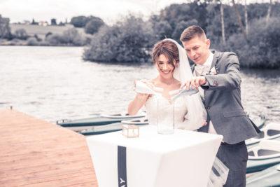 Hochzeit in Herford Freie Trauung Moor Ranch Hücker Moor See Spenge Hochzeitsfotografin Natalja Frei Hochzeitsvideograf Hannover Sergej Metzge ( (15)