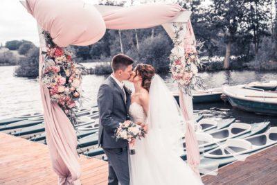 Hochzeit in Herford Freie Trauung Moor Ranch Hücker Moor See Spenge Hochzeitsfotografin Natalja Frei Hochzeitsvideograf Hannover Sergej Metzge ( (23)