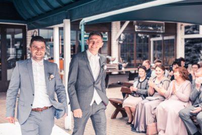 Hochzeit in Herford Freie Trauung Moor Ranch Hücker Moor See Spenge Hochzeitsfotografin Natalja Frei Hochzeitsvideograf Hannover Sergej Metzge ( (7)